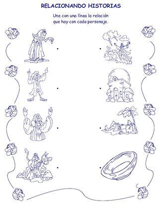Paseo por el Nuevo Testamento - Dibujos y Actividades