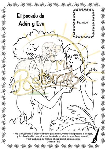 Coloreo con Jesús - Adán y Eva - Mi Pastorcito | Los Mejores ...