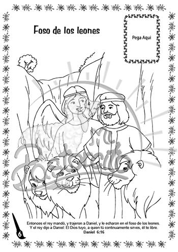 Coloreo con Jesús – Daniel y los leones - Mi Pastorcito   Los ...