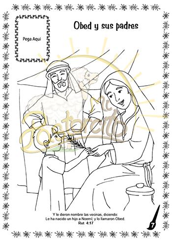 Coloreo con Jesús – Rut - Mi Pastorcito | Los Mejores Materiales ...