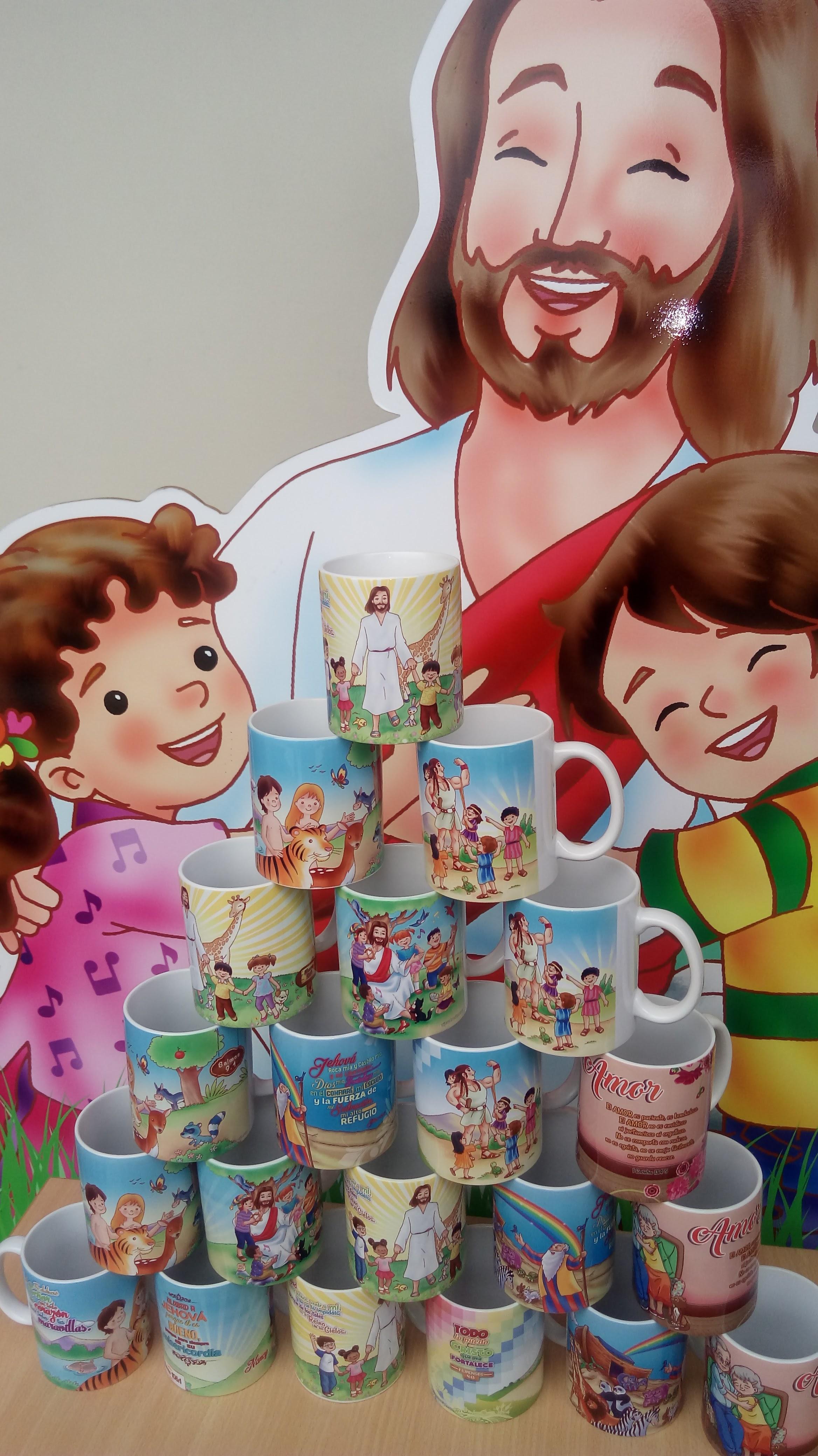 tazas cristianas infantiles