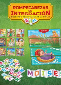 Rompecabezas de Integracion - Personajes Bíblicos