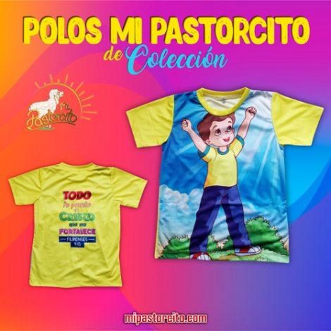 Polo Mi Pastorcito - Amarillo