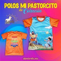 Polo Mi Pastorcito - Naranja
