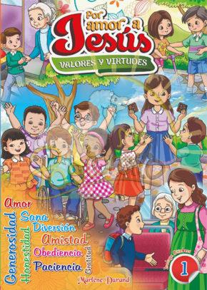 coloreo valores 1 - por amor a jesus