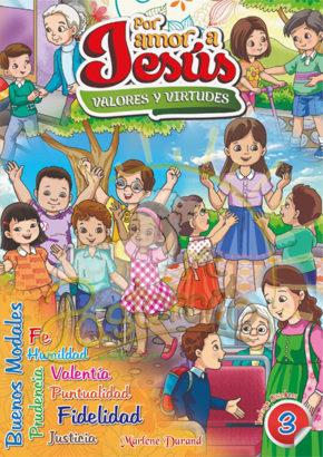 coloreo valores 3 - por amor a jesus