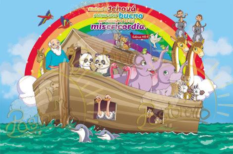 murales del arca de noe