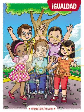 tarjeta de valores - igualdad